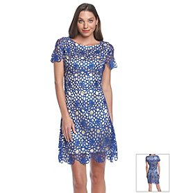JAX® Lace Shift Dress