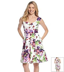 Gabby Skye® Floral Empire Dress