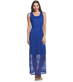 Lennie Crochet Maxi Dress