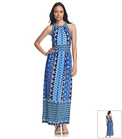 Ronni Nicole® Geo Print Maxi Dress