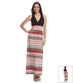 Ronni Nicole® Printed Maxi Dress