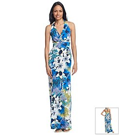 Sangria® Tropical Floral Maxi Dress