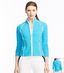 Lauren Active® Jersey Track Jacket