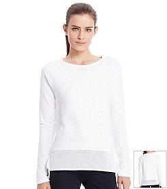 Lauren Active® Mesh Combo Shirt