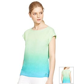 Lauren Active® Ombre Bateau-Neck Shirt