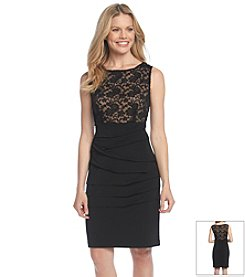 Connected® Lace Shift Dress