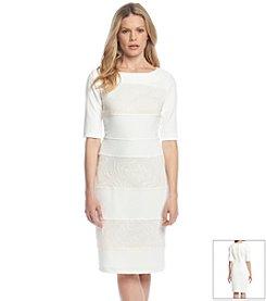 Gabby Skye® Textured Midi Dress