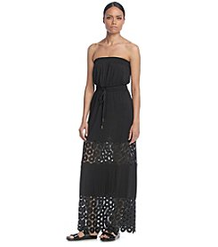 Calvin Klein Crochet Maxi Dress