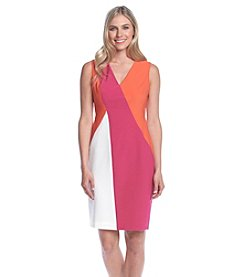 Anne Klein® Colorblock Sheath Dress