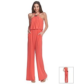 Vince Camuto® Necklace Jumpsuit