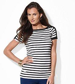 Lauren Jeans Co.® Striped Bateau-Neck Shirt