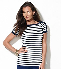 Lauren Jeans Co.® Striped Bateau-Neck Shirt