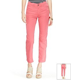 Lauren Jeans Co.® Rolled-Cuff Chino Pants