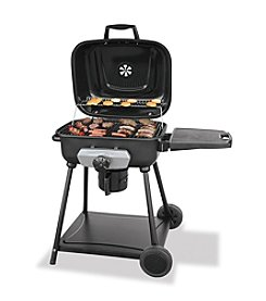UniFlame® Deluxe Outdoor Charcoal Barbeque Grill with 1 Shelf