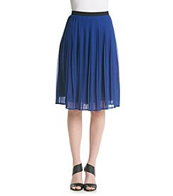 Black Rainn™ Pleated Skirt