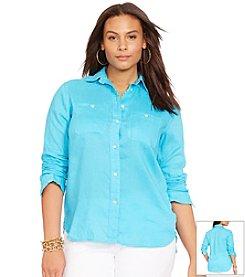 Lauren Ralph Lauren® Plus Size Linen Tunic