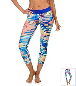 Reebok® Palm Print Long Pants