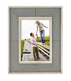 Malden Gray Distressed Frame