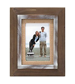 Malden Burlap Two Tone Frame