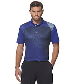PGA TOUR® Men's Short Sleeve Natural Geo Print Polo