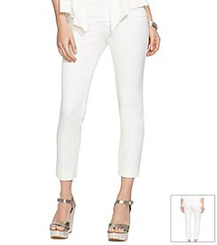 Lauren Ralph Lauren® Stretch Cropped  Pants