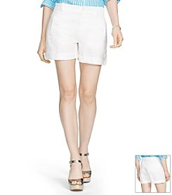 Lauren Ralph Lauren® Linen-Cotton Blend Cargo Shorts