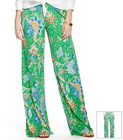 Lauren Ralph Lauren® Stretch Wide-Leg Pants