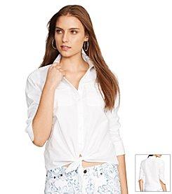 Lauren Ralph Lauren® Tied Voile Shirt
