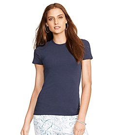 Lauren Ralph Lauren® Stretch-Cotton T-Shirt