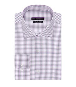 Geoffrey Beene® Men's Regular Fit Multi Check Dress Shirt