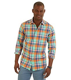 Nautica® Men's Long Sleeve Large Plaid Woven