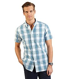 Nautica® Men's Big & Tall Short Sleeve Large Plaid