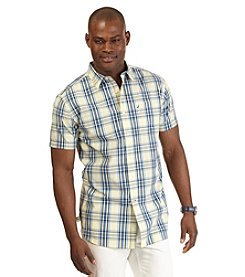 Nautica® Men's Big & Tall Short Sleeve Medium Plaid