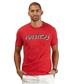 Nautica® Men's Big & Tall Short Sleeve Nautica Crewneck