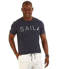 Nautica® Men's Big & Tall Short Sleeve Sail Crew