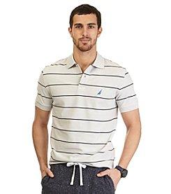 Nautica® Men's Big & Tall Short Sleeve New Stripe Polo
