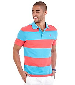 Nautica® Men's Big & Tall Short Sleeve Bold Stipe Polo