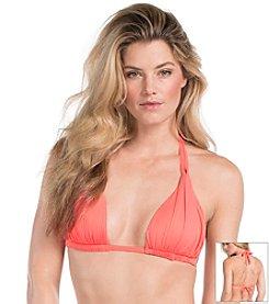 La Blanca® Solid Halter Bikini Top
