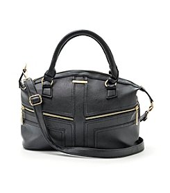 Rampage® Diagonal Zipper Satchel