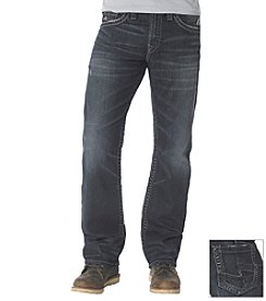 Silver Jeans Co. Men's Zac Dark Wash Straight Leg Jean
