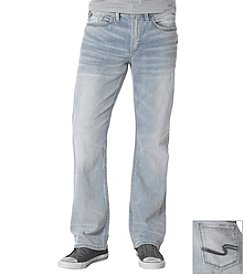 Silver Jeans Co. Men's Craig Light Wash Straight Leg Jean