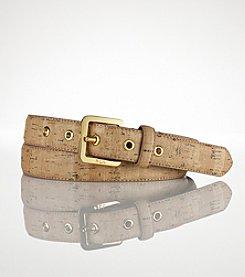 Lauren Ralph Lauren Gladstone Grommet Belt