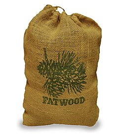 UniFlame® 8-lbs. Fatwood in Burlap Sack