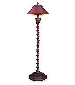 UniFlame® New Orleans Floor Lamp Electric Heater
