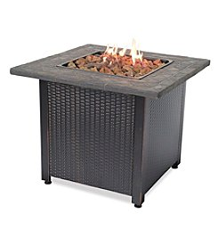 UniFlame® LP Gas Outdoor Firebowl with Steel Mantel