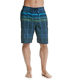 Speedo® Men's Plaid E-Board Short