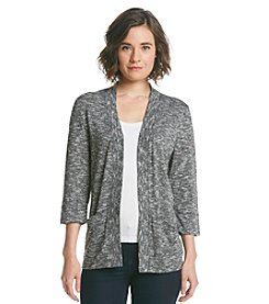 Studio Works® Marled 3/4 Sleeve Cardigan