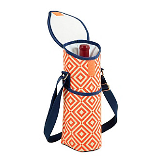 Picnic at Ascot Diamond Collection Single Bottle Tote