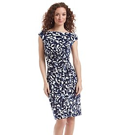 Lauren Ralph Lauren® Abstract Printed Dress