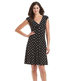 Lauren Ralph Lauren Polka Dot Dress